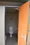Twee toiletten